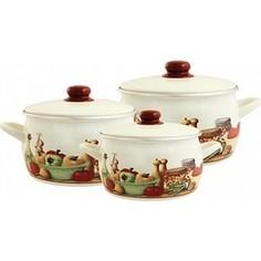 Набор эмалированной посуды 6 предметов Metrot Вилладжо (125329)
