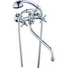 Смеситель для ванны G.lauf QFR с душевым гарнитуром, хром (QFR7-A722)