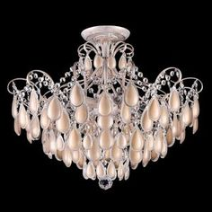 Потолочная люстра Crystal Lux Sevilia PL6 Gold