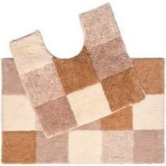 Набор ковриков для ванной IDDIS Hopscotch 50x80 и 50x50 см (460M580i13)