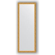 Зеркало в багетной раме поворотное Evoform Definite 52x142 см, сусальное золото 47 мм (BY 1068)