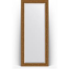 Зеркало напольное с фацетом поворотное Evoform Exclusive Floor 84x204 см, в багетной раме - травленая бронза 99 мм (BY 6129)