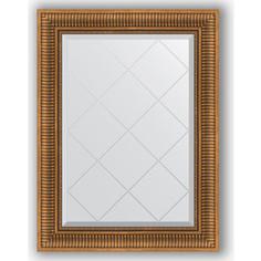 Зеркало с гравировкой поворотное Evoform Exclusive-G 67x90 см, в багетной раме - бронзовый акведук 93 мм (BY 4111)