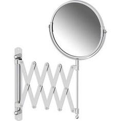 Косметическое зеркало двустороннее x2 Sorcosa Plain хром (SOR 002)