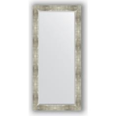 Зеркало с фацетом в багетной раме поворотное Evoform Exclusive 76x166 см, алюминий 90 мм (BY 1210)
