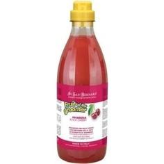 Шампунь Iv San Bernard Fruit of the Grommer Black Cherry Shampoo for Short Coat с протеинами шелка для короткой шерсти животных 500 мл