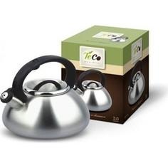 Чайник 3.0 л со свистком Teco (TC-101)