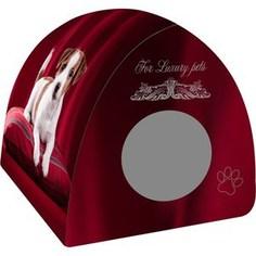 Домик PerseiLine Дизайн Вигвам Щенок на подушке для собак 40*40*39 см (31147/ДМД-3)