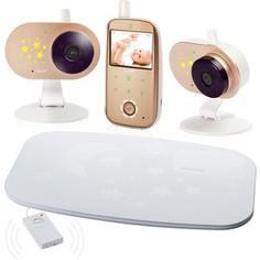 Видеоняня Ramili с двумя камерами и монитором дыхания Ramili Baby RV1200X2SP