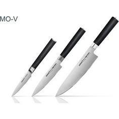 Набор из 3 кухонных ножей Samura Mo-V (SM-0220/16)