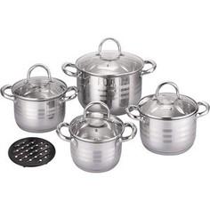 Набор посуды 9 предметов Bekker (BK-2882)