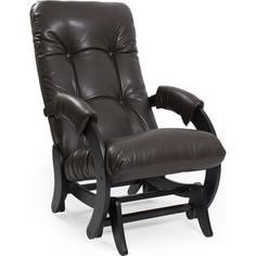 Кресло-качалка глайдер Мебель Импэкс МИ Модель 68 Vegas Lite Amber, венге