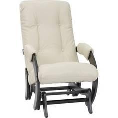 Кресло-качалка глайдер Мебель Импэкс МИ Модель 68 венге, Polaris Beige
