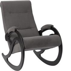 Кресло-качалка Мебель Импэкс МИ Модель 5 венге, обивка Verona Antazite Grey