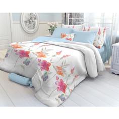 Комплект постельного белья Verossa 1,5 сп, перкаль, Color flowers, с наволочками 70х70 (707889)