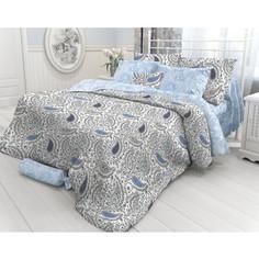 Комплект постельного белья Verossa Евро, Orient paisley, наволочки 50x70 и 70x70 (717595)