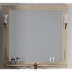 Зеркало в деревянной раме Opadiris Риспекто 100 слоновая кость 1013, для светильников 00000001041, Z0000001408 (Z0000006704)