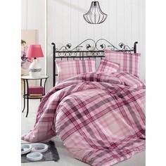 Комплект постельного белья Altinbasak 1,5 сп, ранфорс, Aliz розовый (298/36/CHAR004)