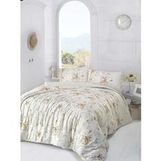 Комплект постельного белья Altinbasak Евро, ранфорс, Duru коричневый (297/12/CHAR002)