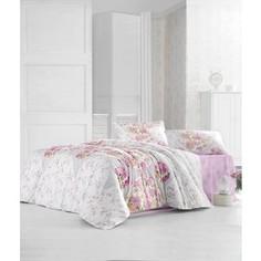 Комплект постельного белья Altinbasak Евро, ранфорс, Deren розовый (297/11/CHAR001)