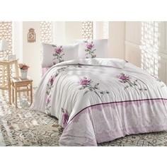 Комплект постельного белья Altinbasak Евро, ранфорс, Almila розовый (297/4/CHAR002)