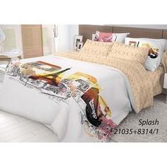 Комплект постельного белья Волшебная ночь Евро, ранфорс, Splash с наволочками 70x70 (702198)