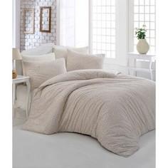 Комплект постельного белья Altinbasak Евро, ранфорс, Rozi кремовый (297/49/CHAR002)
