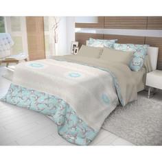 Комплект постельного белья Волшебная ночь Евро, ранфорс, Colibri с наволочками 50x70 (706799)