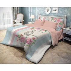 Комплект постельного белья Волшебная ночь 2-х сп, ранфорс, Fluid с наволочками 50х70 (716251)