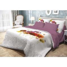 Комплект постельного белья Волшебная ночь 1,5 сп, ранфорс, Fialki с наволочками 70x70 (701928)