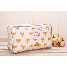 Комплект в кроватку AmaroBaby 19 предметов (7+12 бортиков) LUCKY Premium (оранжевый,поплин/бязь)