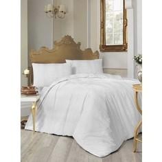 Комплект постельного белья Altinbasak Евро, ранфорс, Nobby белый (297/30/CHAR001)
