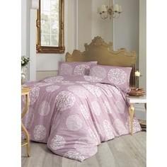 Комплект постельного белья Altinbasak 1,5 сп, ранфорс, Bello грязно-розовый (298/45/CHAR001)