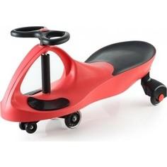 Каталка Bradex Машинка детская с полиуретановыми колесами красная БИБИКАР
