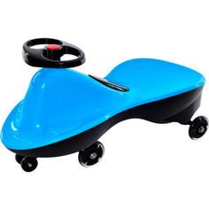 Каталка Bradex Машинка детская с полиуретановыми колесами БИБИКАР СПОРТ голубой