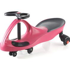 Каталка Bradex Машинка детская с полиуретановыми колесами розовая БИБИКАР