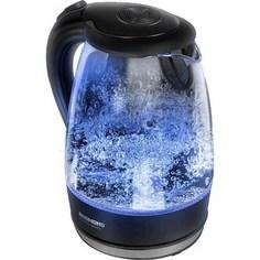 Чайник электрический Redmond RK-G161, черный