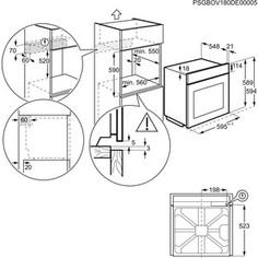 Электрический духовой шкаф Zanussi OPZB4334B