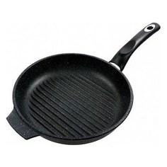 Сковорода-гриль d 24 см Традиция Гранит (ТГ7241)