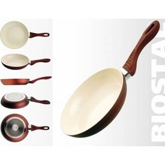 Сковорода d 26 см для индукции Biostal (Bio-FPF-26-IB корич/беж)