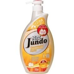 Концентрированный гель для мытья посуды Jundo и детских принадлежностей с гиалуроновой кислотой Juicy Lemon, 1л.