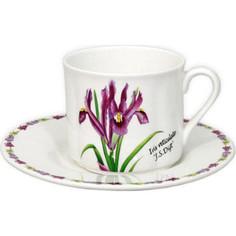 Чашка с блюдцем Imari Ирисы (IM15018E-A93AL)