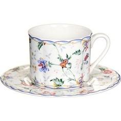 Чашка с блюдцем Imari Букингем (IM15018E-A218AL)