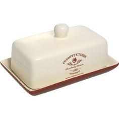 Масленка с крышкой Terracotta Кухня в стиле Кантри (TLY288-CK-AL)