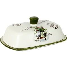 Масленка Anna Lafarg LF Ceramics Букет (AL-190F6298-B-LF)