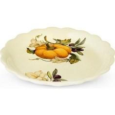 Тарелка закусочная Nuova Cer Тыква (NC7410_4-ODN-AL)