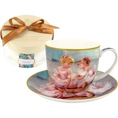 Чашка с блюдцем Carmani Балерины (CAR2-045-0213-AL)