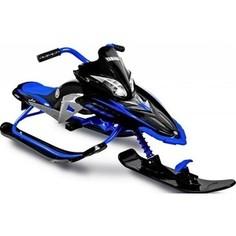 Снегокат Yamaha Apex SNOW BIKE Titanium black/blue YM13001