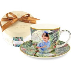 Чашка с блюдцем Carmani Летний день (CAR2-045-0209-AL)