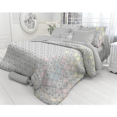 Комплект постельного белья Verossa Евро, перкаль, Damask, 2 наволочки 50x70, 2 наволочки 70x70 (718713)
